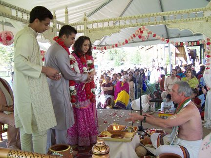Jackson Hole Wedding Puja