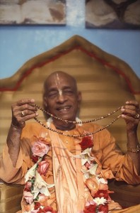 srila prabhupada japa string of beads