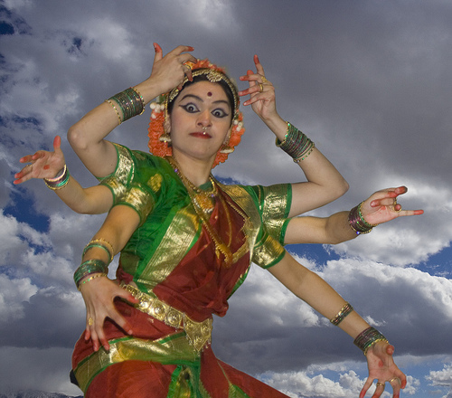 Krishna temple Dancer