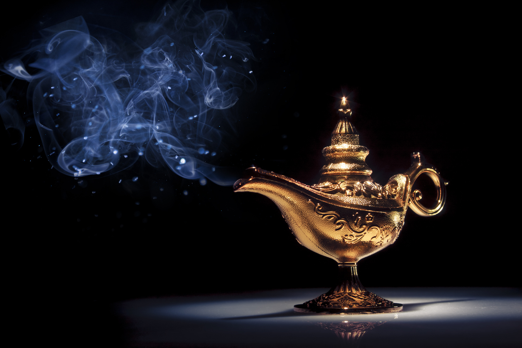 Magic Lamp My Three Wishes From A Genie