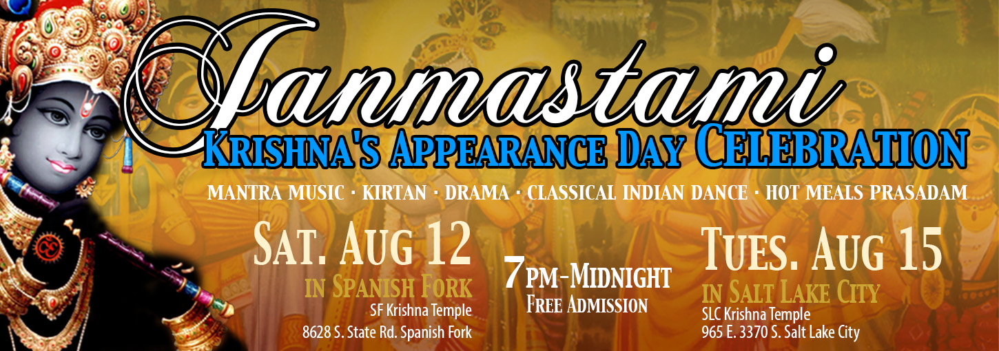 Janmastami Krishna's Appearance Day Celebration