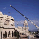 Sri Sri Radha Krishna Temple Utah Dome