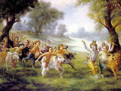 Krishna's Home