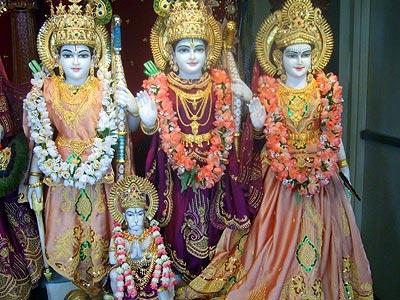 Sita Rama Lakshman Hanuman