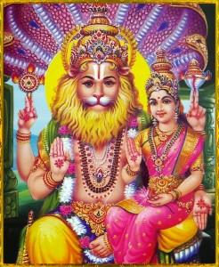 Nrsimha&Lakshmi